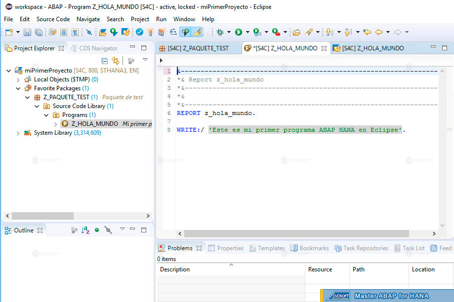 Eclipse ABAP Development Tools
